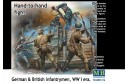 1/35 Hand to hand fight: German and British infantrymen WWI