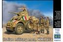 1/35 Italian military men WWII