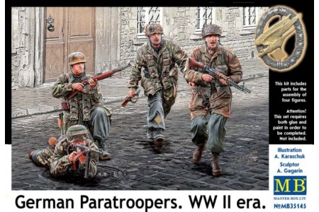 1/35 German paratroopers WWII era