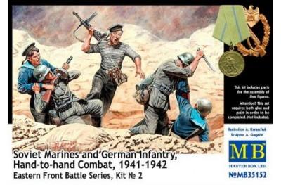 1/35 Hand to hand combat: Soviet marines and german infantry