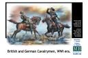 1/35 British and German cavalrymen WWI