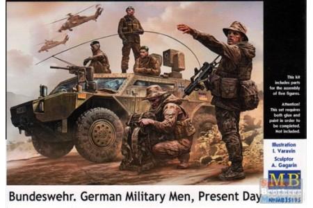 1/35 Bundeswehr German Military men present day