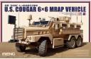 1/35 US Cougar 6 X 6 MRAP vehicle