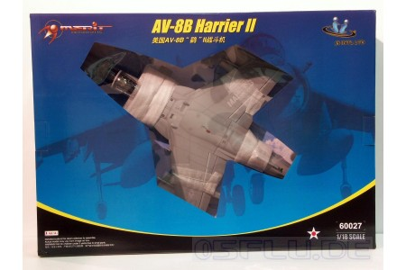 1/18 US Navy AV-8B Harrier II (prebuilt)