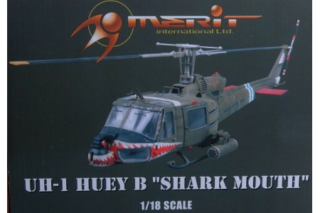 1/18 UH-1B Shark Mouth (prebuilt)