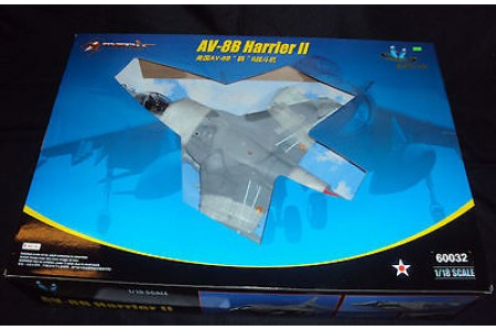 1/18 US Marines AV-8B Harrier II (prebuilt)
