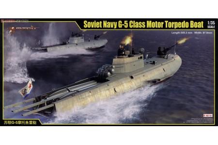 1/35 Soviet Navy G-5 Class Torpedo Boat
