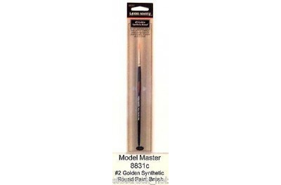Model Master BRUSH ROUND NO. 2 synthetic