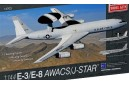 1/144 E-3/ E-8 AWACS Joint Star