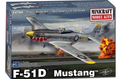 1/144 F-51D Mustang Korean war
