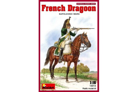 1/16 French Dragon on horse