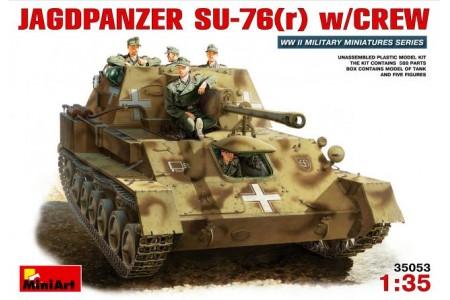 1/35 Jagdpanzer Su-76(r) with crew