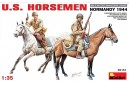 1/35 US horsemen Normandy 1944