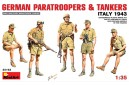 1/35 German paratroopers and tankers