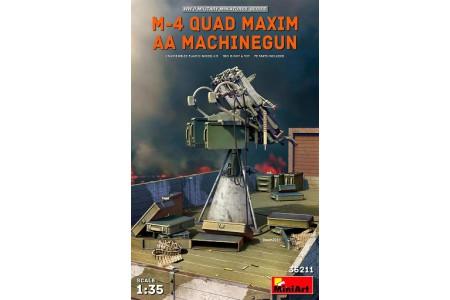 1/35 M-4 quad Maxim AA Machine gun