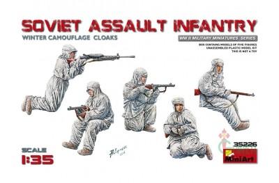 1/35 Soviet assault infantry winter camo
