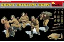 1/35 Soviet Artillery Crew with ammo boxes