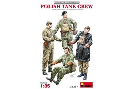 1/35 Polish Tank crew
