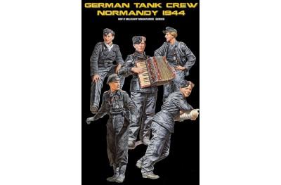 1/35 German tank crew Normandy 1944