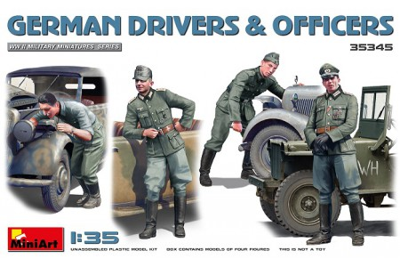 1/35 German drivers and officers