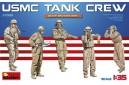 1/35 USMC Tank crew