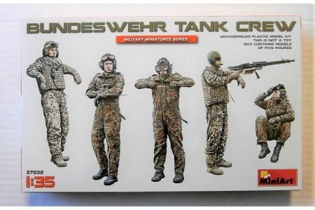 1/35 Bundeswehr Tank crew
