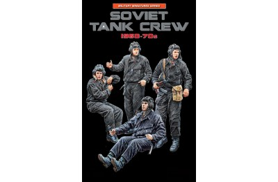 1/35 Soviet Tank crew 1960-70s