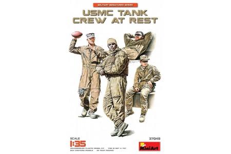 1/35 USMC Tank crew at rest