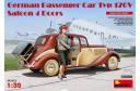 1/35 German car Typ 170V w/ 1 figure