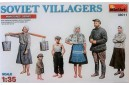 1/35 Soviet villagers