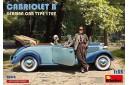 1/35 German car Typ 170V cabriolet w/ 2 figures
