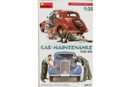 1/35 Car Maintenance