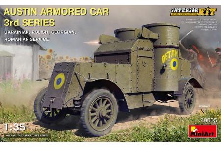 1/35 Austin armored car Russian Service