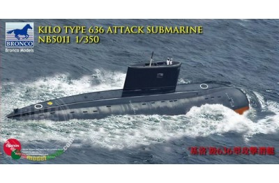 1/350 KILO Type 636 Attack submarine