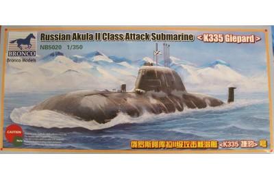 1/350 Russian Akula II K335 Giepard