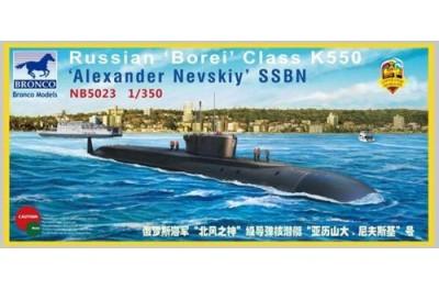 1/350 Russian Borei class K550