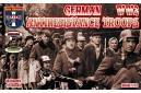 1/72 WWII German anti resistance troops