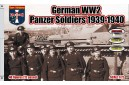 1/72 WWII German panzer soldiers 1939-40