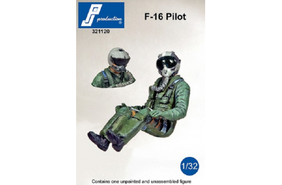1/32 US pilot seated for F-16, F-18, F-35