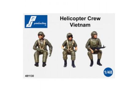 1/48 US helicopters crew Vietnam