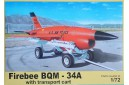1/72 BQM-34 Firebee with transport cart