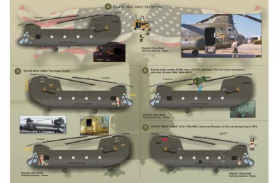 1/48 CH-47 Chinook P. 1 decal