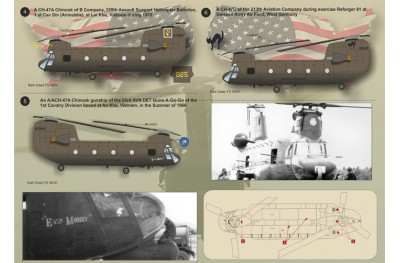 1/48 CH-47 Chinook P. 2 decal