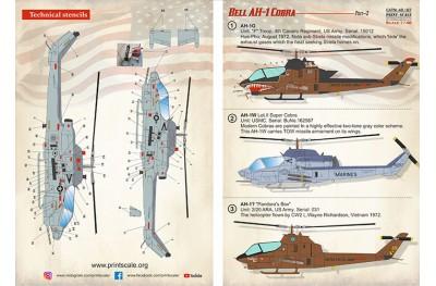 1/48 Bell AH-1 Cobra P. 2 decal