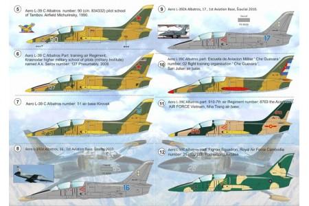 1/72 Aero L-39 Albatros decal