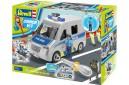 1/18 Junior kit Police Van and figure 1/20 (quick build)