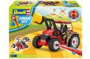 1/18 Junior kit Tractor loader and figure 1/20 (quick build)