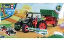 1/18 Junior kit Tractor trailer and figure 1/20 (quick build)