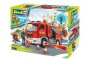 1/18 Junior kit Fire truck and figure 1/20 (quick build)
