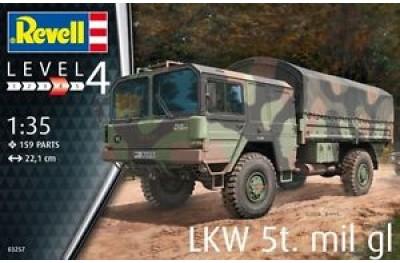 1/35 LKW 5T mil lg
